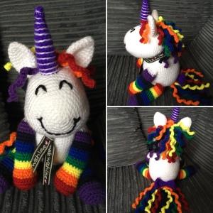 Large Rainbow Unicorn