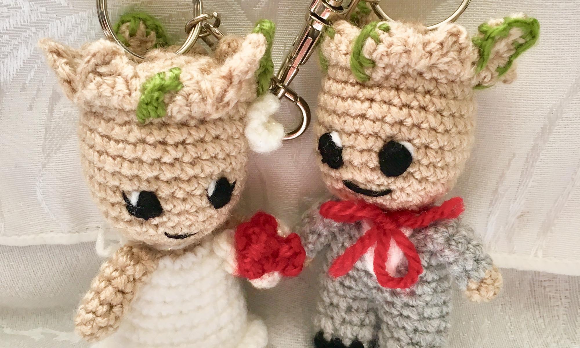 Bunny couple love keychain free pattern | Llavero ganchillo, Ganchillo  amigurumi, Amigurumi patrones gratis | 1200x2000