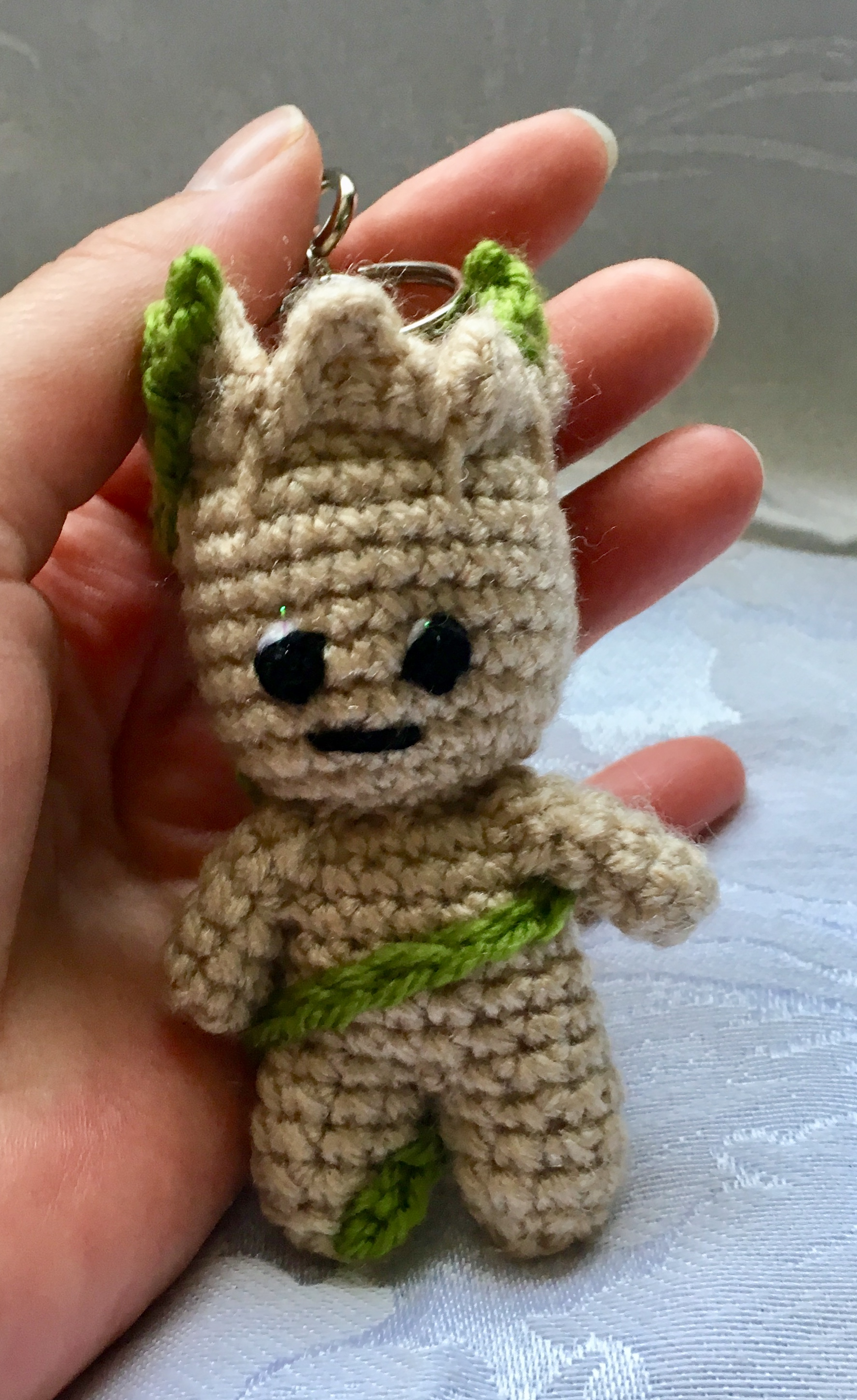 Crocheted Rocket Raccoon and Baby Groot I did ^^ : Marvel | 2903x1776