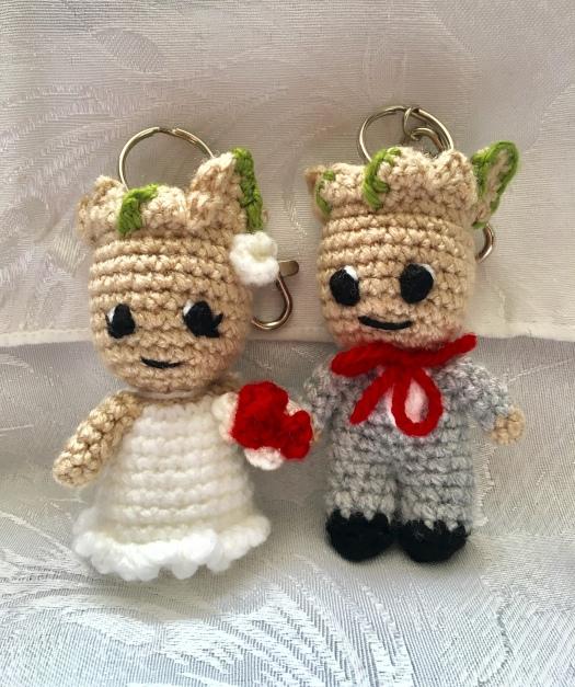 Small Bear Couple   Diy crochet amigurumi, Crochet projects ...   628x525
