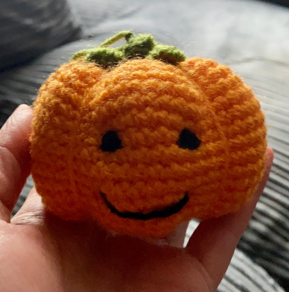 Cute little orange pumpkin